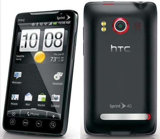 Hvad er forskellen på Desire HD og HTC Evo 4G