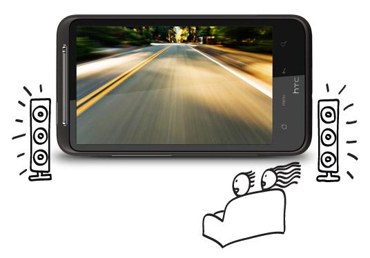 HTC Desire HD – opsætning af navigation